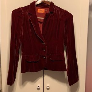 Women's Juicy Couture red jacket